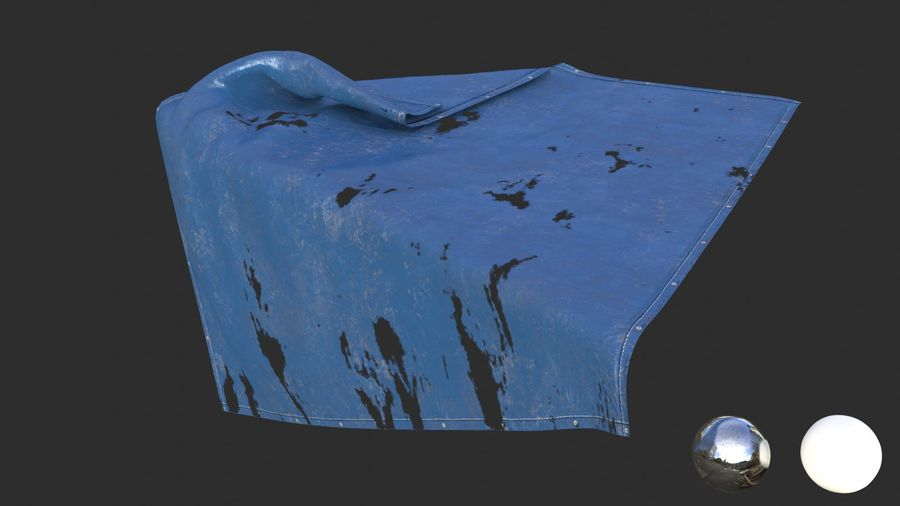 Tarp Assets 01 royalty-free 3d model - Preview no. 45