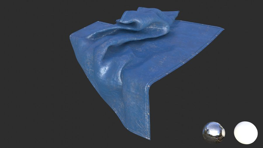 Tarp Assets 01 royalty-free 3d model - Preview no. 24