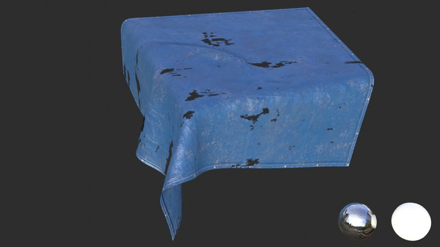Tarp Assets 01 royalty-free 3d model - Preview no. 43