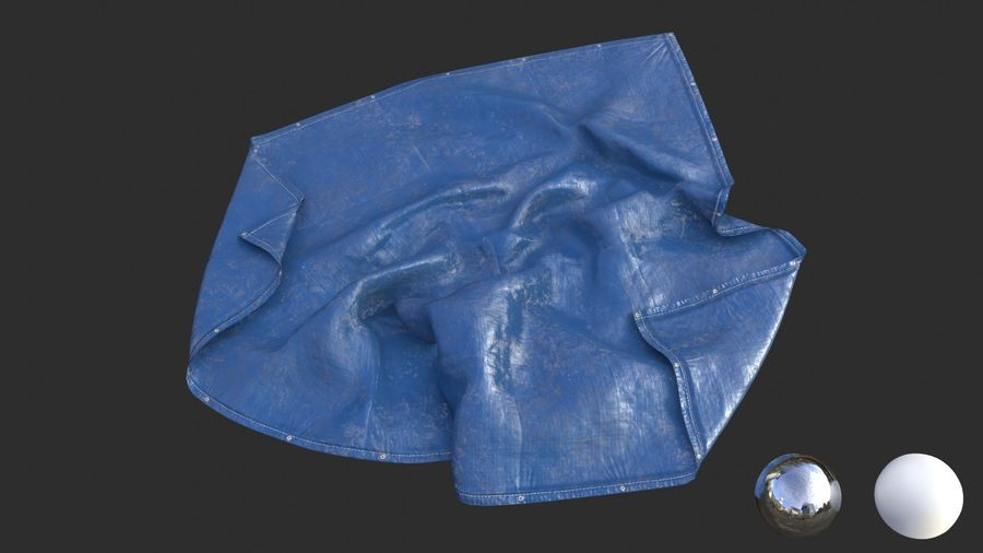 Tarp Assets 01 royalty-free 3d model - Preview no. 27