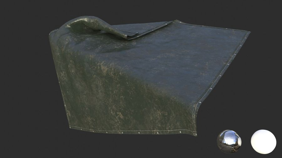 Tarp Assets 01 royalty-free 3d model - Preview no. 34