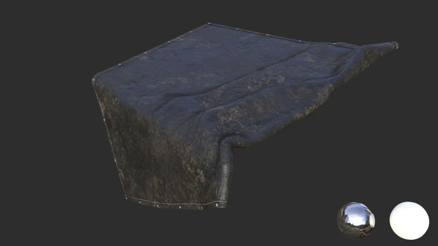 Tarp Assets 01 royalty-free 3d model - Preview no. 9