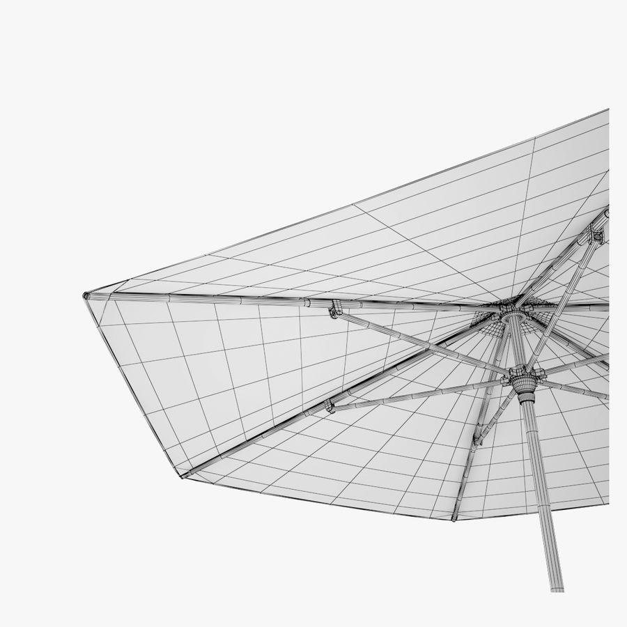 Dedon Parasol Hexagon royalty-free 3d model - Preview no. 1