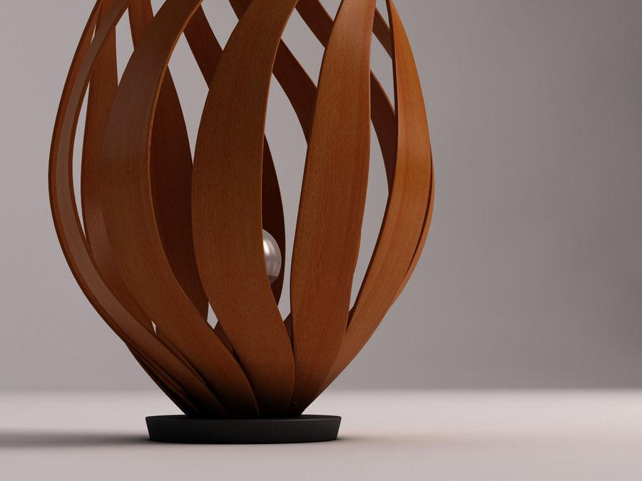 FLOOR LAMP---Tulip royalty-free 3d model - Preview no. 2