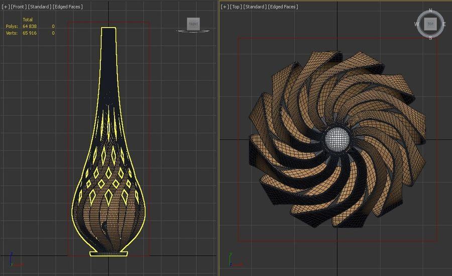FLOOR LAMP---Tulip royalty-free 3d model - Preview no. 5