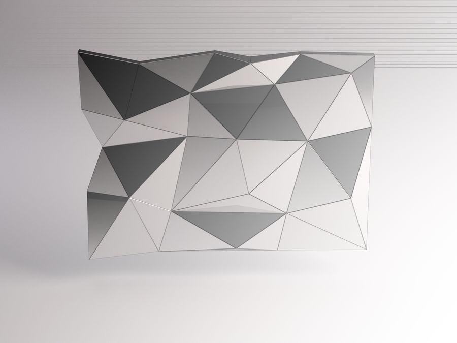 MIRROR---Broken Deformed royalty-free 3d model - Preview no. 1