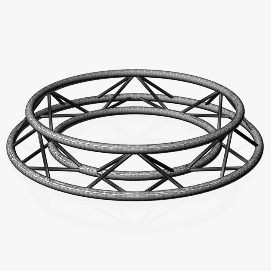 Truss Triangular diameter 150cm royalty-free 3d model - Preview no. 5