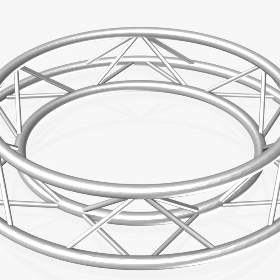 Truss Triangular diameter 150cm royalty-free 3d model - Preview no. 2