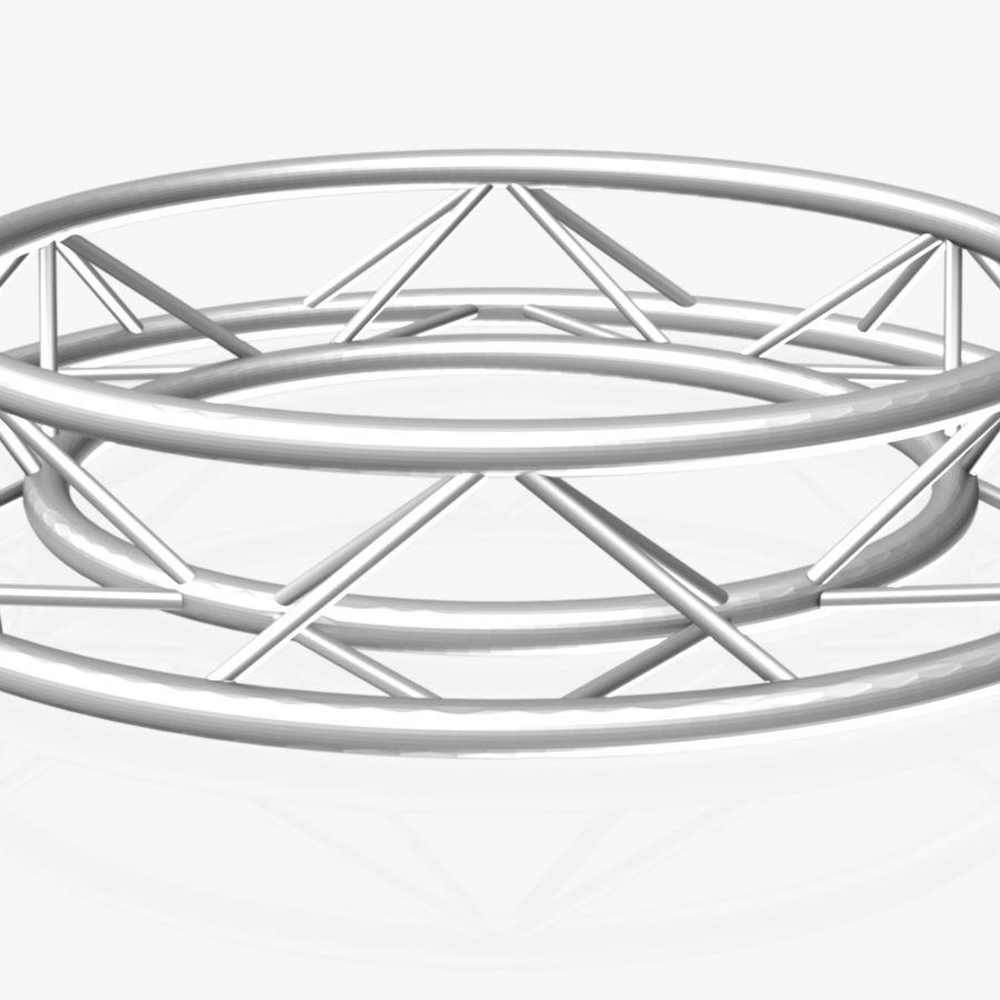 Truss Triangular diameter 150cm royalty-free 3d model - Preview no. 3