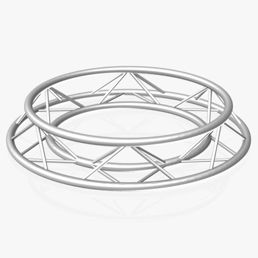 Truss Triangular diameter 150cm royalty-free 3d model - Preview no. 4