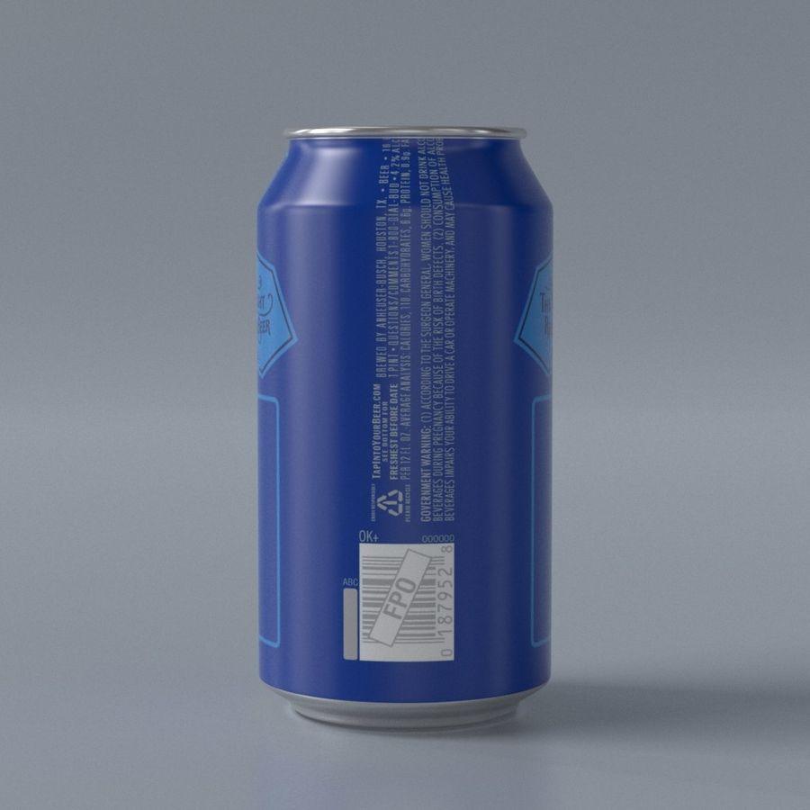つぼみライト缶 royalty-free 3d model - Preview no. 3