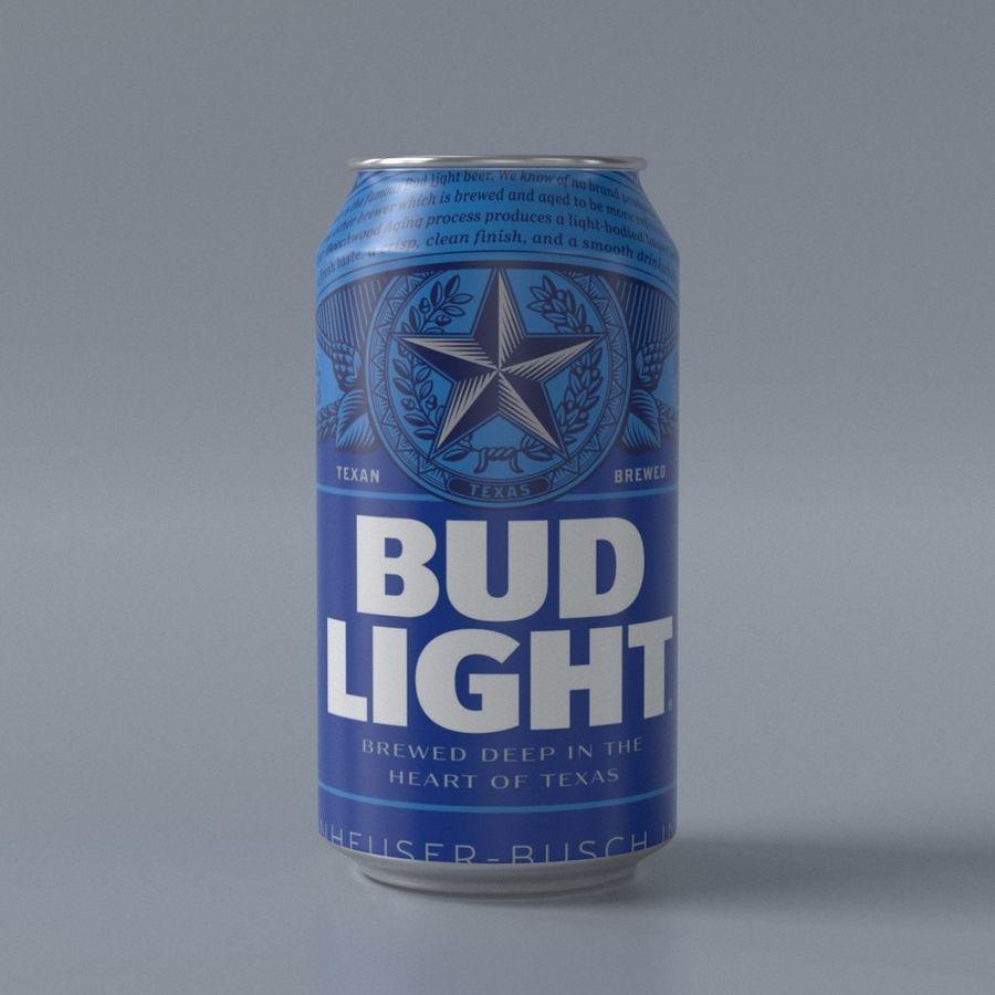 つぼみライト缶 royalty-free 3d model - Preview no. 1