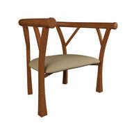 Eleganckie krzesło 3d model