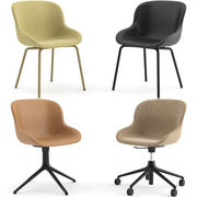 HYG Chairs Upholstery by Normann Copenhagen 3d model