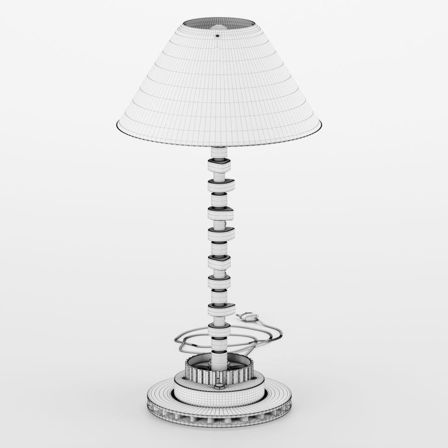 工業用ランプ、機械部品の加工 royalty-free 3d model - Preview no. 6