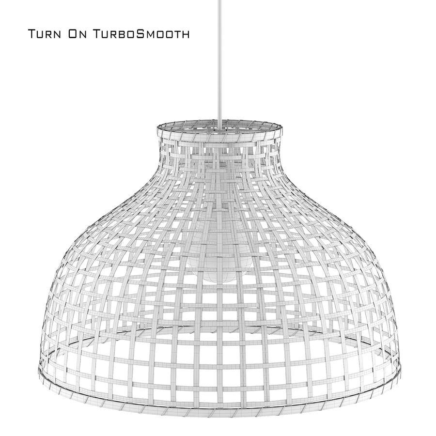 GOTTORP Klosz lampy wiszącej - bambus - Ikea royalty-free 3d model - Preview no. 5