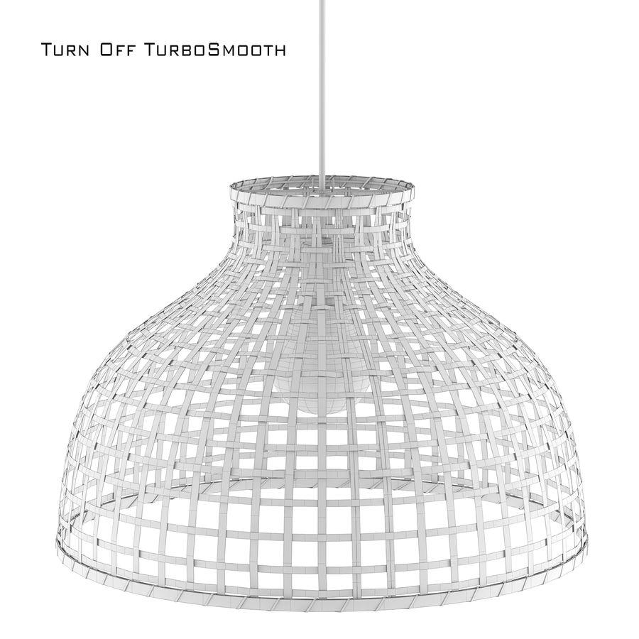 GOTTORP Klosz lampy wiszącej - bambus - Ikea royalty-free 3d model - Preview no. 4