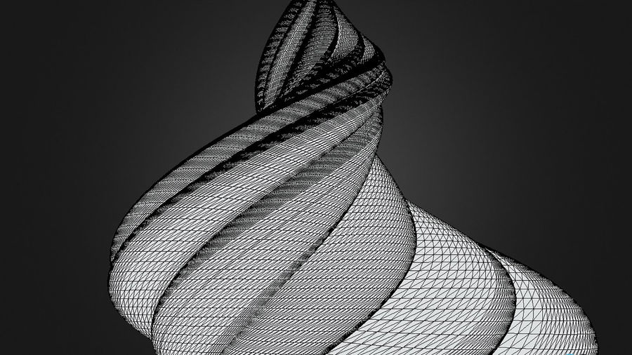 Alien Architecture royalty-free 3d model - Preview no. 7