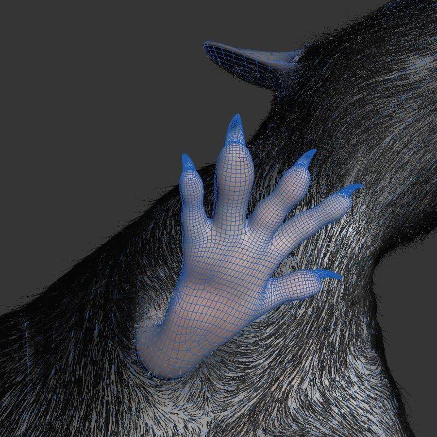 Животная крыса мышь royalty-free 3d model - Preview no. 12