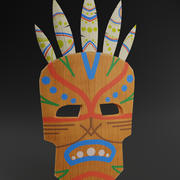Shaman Mask 3d model
