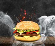 Burger 3d model