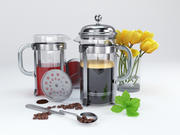 кофейный сервиз 3d model