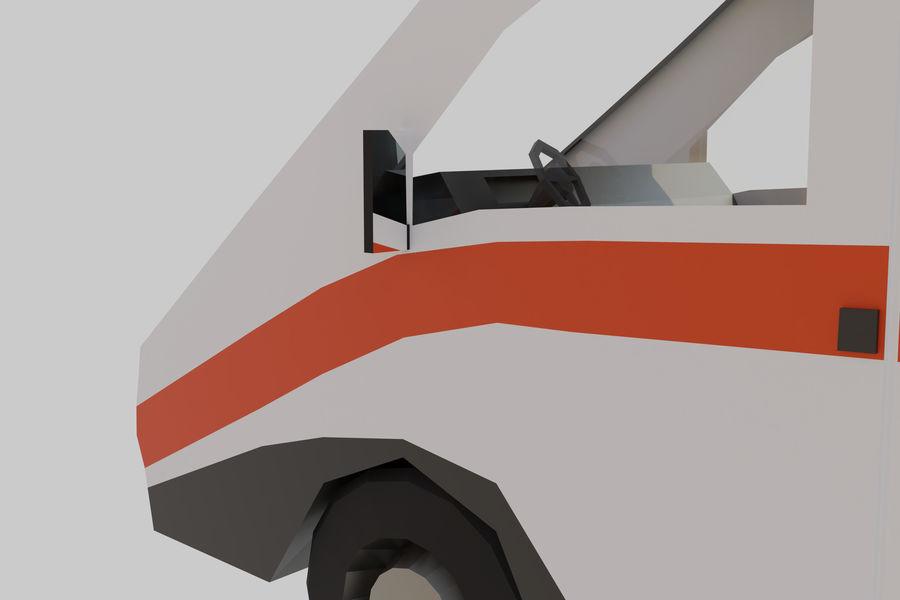 Ambulancia royalty-free modelo 3d - Preview no. 9