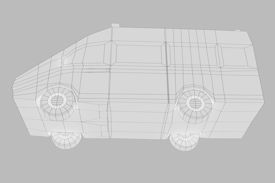 Ambulance royalty-free 3d model - Preview no. 18