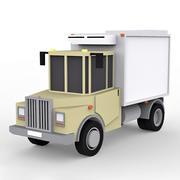 Cartoon Box Truck 3d model