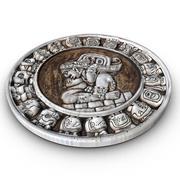Círculo maia do zodíaco 3d model