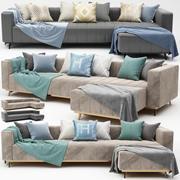 hörn soffa 3d model