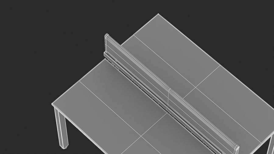 Bureau Herman Miller Sense 1 royalty-free 3d model - Preview no. 21