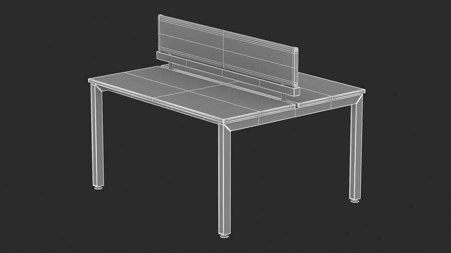 Bureau Herman Miller Sense 1 royalty-free 3d model - Preview no. 14