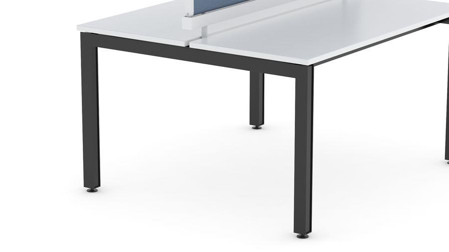 Bureau Herman Miller Sense 1 royalty-free 3d model - Preview no. 10