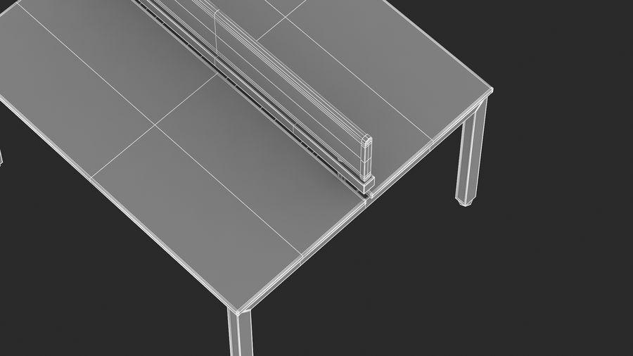Bureau Herman Miller Sense 1 royalty-free 3d model - Preview no. 20