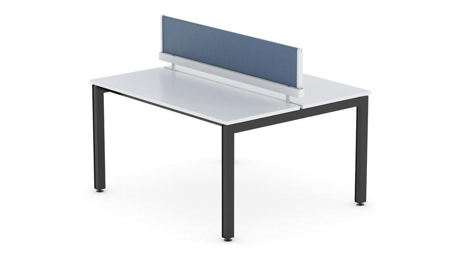 Bureau Herman Miller Sense 1 royalty-free 3d model - Preview no. 4