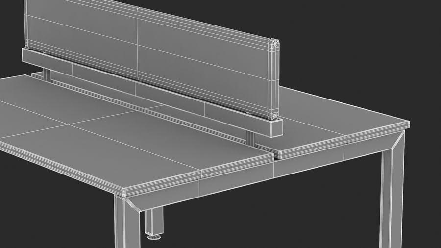 Bureau Herman Miller Sense 1 royalty-free 3d model - Preview no. 19