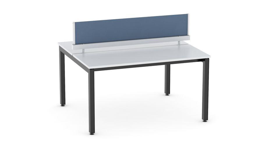 Bureau Herman Miller Sense 1 royalty-free 3d model - Preview no. 2