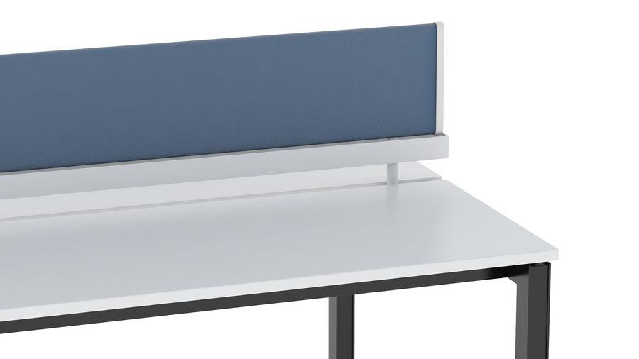 Bureau Herman Miller Sense 1 royalty-free 3d model - Preview no. 7