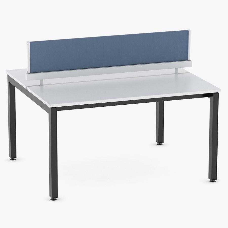Bureau Herman Miller Sense 1 royalty-free 3d model - Preview no. 1