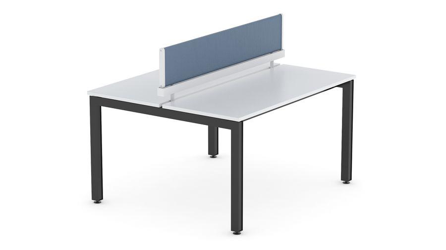 Bureau Herman Miller Sense 1 royalty-free 3d model - Preview no. 3