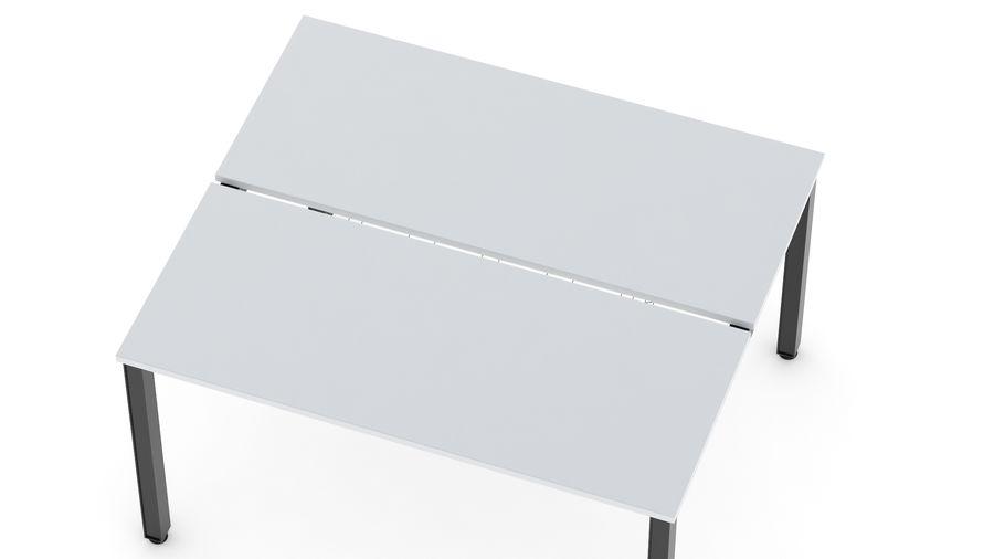 Bureau Herman Miller Sense 2 royalty-free 3d model - Preview no. 10