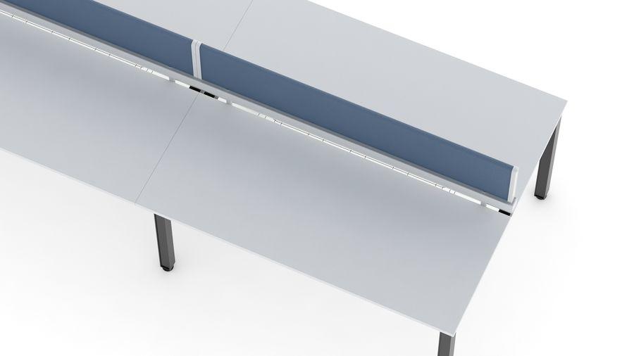 Bureau Herman Miller Sense 3 royalty-free 3d model - Preview no. 10