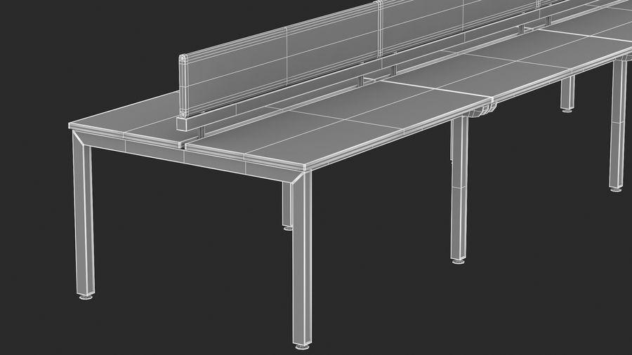Bureau Herman Miller Sense 3 royalty-free 3d model - Preview no. 18