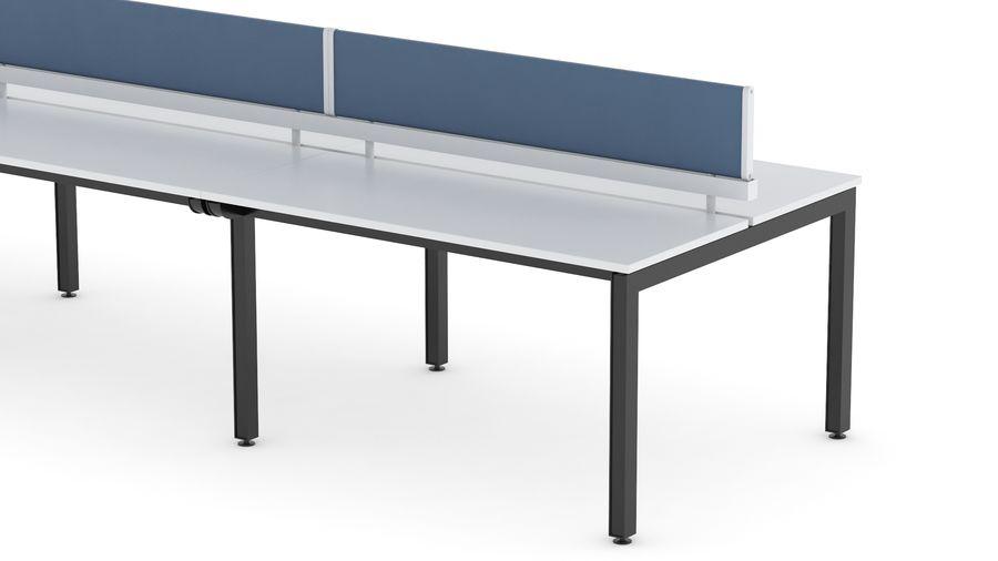 Bureau Herman Miller Sense 3 royalty-free 3d model - Preview no. 9