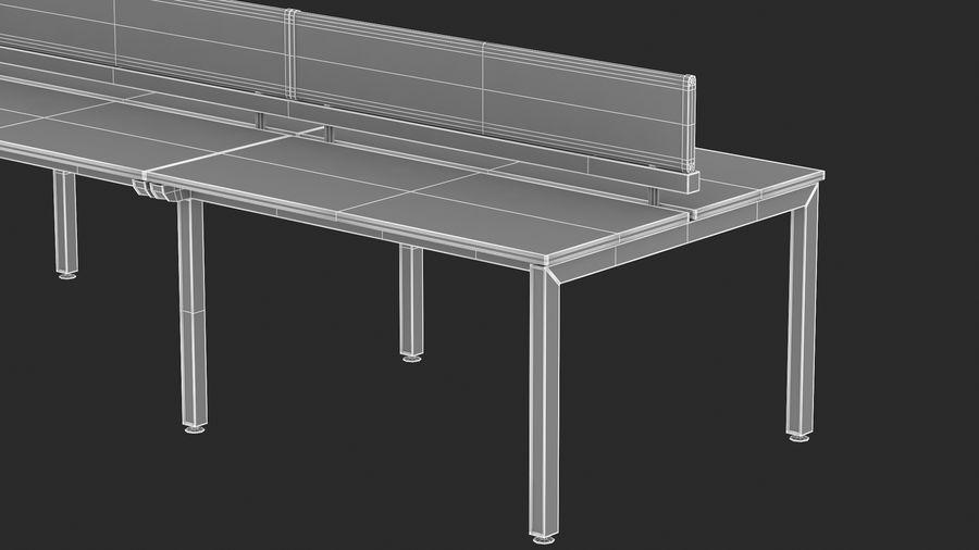 Bureau Herman Miller Sense 3 royalty-free 3d model - Preview no. 19