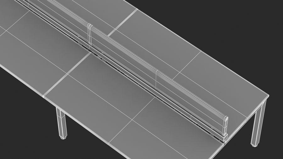 Bureau Herman Miller Sense 3 royalty-free 3d model - Preview no. 20