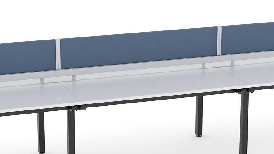 Bureau Herman Miller Sense 3 royalty-free 3d model - Preview no. 7