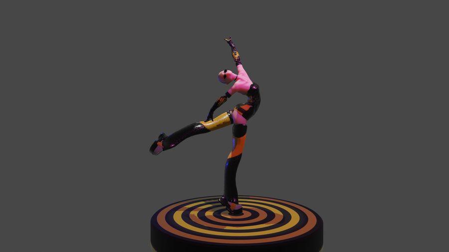 personagem de menina royalty-free 3d model - Preview no. 1