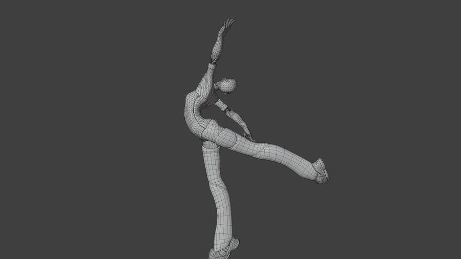 personagem de menina royalty-free 3d model - Preview no. 12